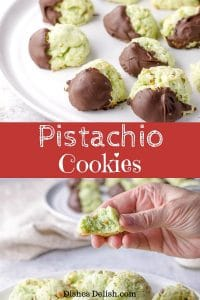 Pistachio Cookies for Pinterest