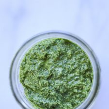 Pesto Spread ready to eat!