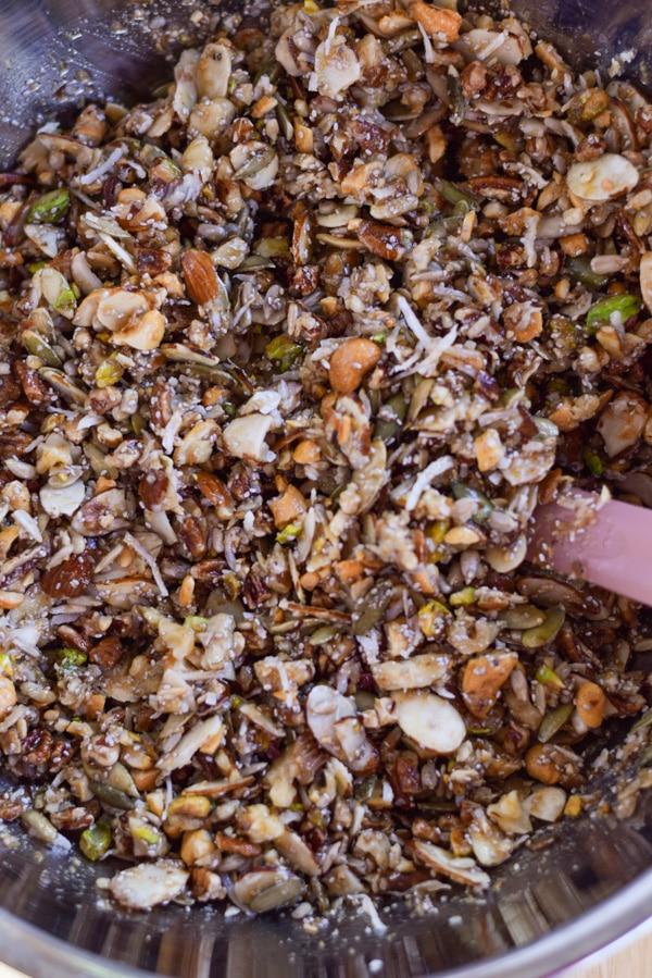Paleo Nut Granola