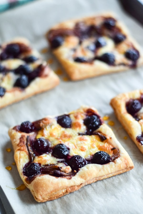 Tarts fresh out of the oven