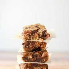 Pile of healthy s'mores granola bars