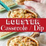 Lobster Casserole   Dip for Pinterest
