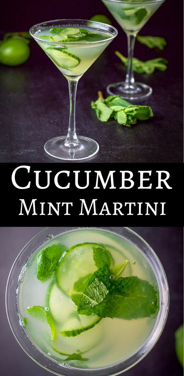 This exquisitely cool cucumber mint martini is so delicious! It's slightly sweet but so refreshing!!  Grab your muddler and mint and make the magic happen! #drinks #martini #cucumbermint #cucumbermintmartini #dishesdelish https://ddel.co/ccmm