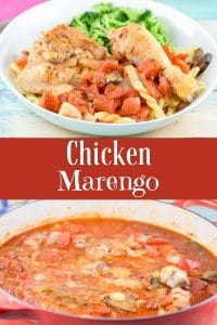 Chicken Marengo for Pinterest