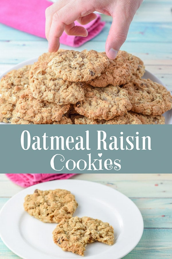 These oatmeal raisin cookies are the perfect mix of slightly crispy on the outside but soft and succulent on the inside and are truly the best oatmeal raisin cookies I've ever had. #oatmealraisin #cookies #oatmealraisincookies #dishesdelish http://ddel.co/addycook