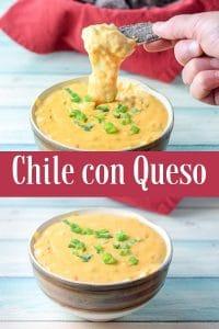 Chili con queso for Pinterest