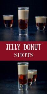 Jelly Donut shot for Pinterest
