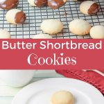 Butter Shortbread Cookies for Pinterest