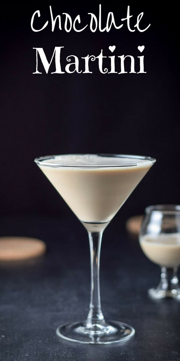 This chocolate martini is decadently delicious!  But be careful you are going to want to drink this cocktail every week!  #chocolate #martini #chocolatemartini #dishesdelish