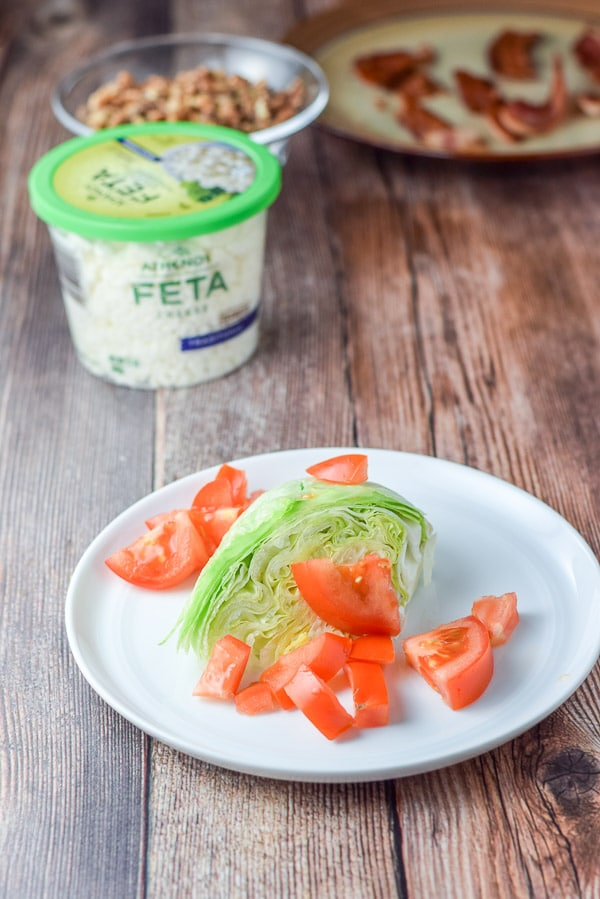 Tomatoes on the wedge salad recipe