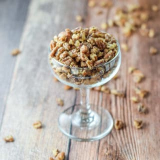 Simple Stovetop Candied Pecans