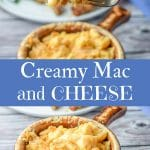Creamy Mac and Cheese for Pinterest