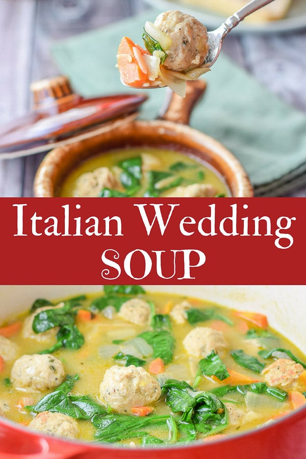 This Italian wedding soup with orzo recipe is delicious not only because of the succulent meatballs, but the rich broth and delicious vegetables! #soup #meatballs #italianweddingsoup #dishesdelishrecipes http://ddel.co/itwdsp
