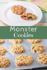 Monster Cookies for Pinterest