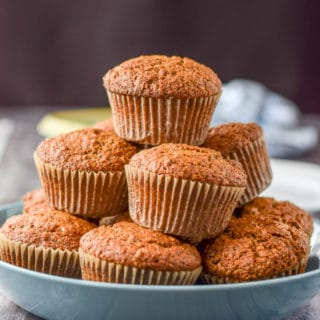 These delicious raisin oat bran muffins are healthy and fun to eat. The great thing about them is you can have them for breakfast or a snack!