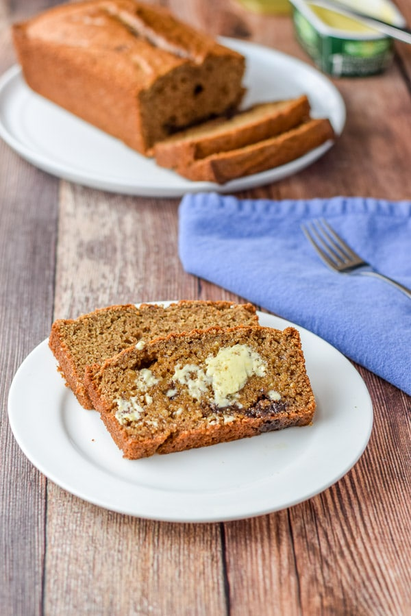 Buttered satisfying cinnamon bread