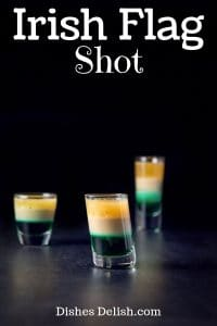 Irish Flag Shot for Pinterest