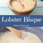 Lobster Bisque for Pinterest