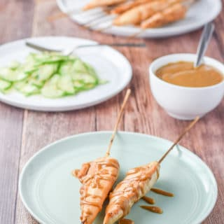 Thai Chicken Satay | Baked and Simple