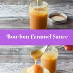 This Bourbon Caramel Sauce recipe is so delicious, you'll want to dollop it on ice cream or put a little in your coffee, or better yet, eat it by the spoonful!
