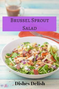 The Brussel sprout salad recipe is so delicious that you don't have to be a Brussel sprout lover to enjoy this. How do I know? I am not a Brussel sprout lover but my hubby is.