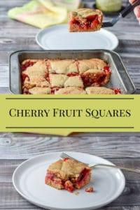 My Family's Cherry Fruit Squares