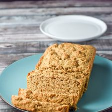 Incredibly easy beer bread sliced and ready to eat