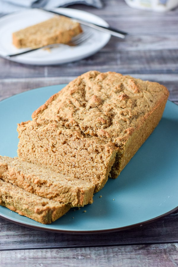 Close up of the incredibly easy beer bread