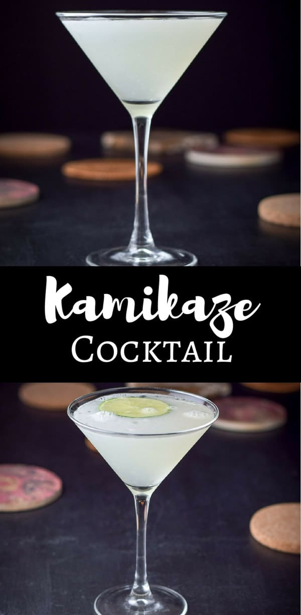 My Sister's Kamikaze Cocktail is yummy. It's a blast from the past cocktail and great to share at a party! #kamikaze #cocktail #drink #dishesdelish #dishesdelishcocktails http://ddel.co/nkamikaze