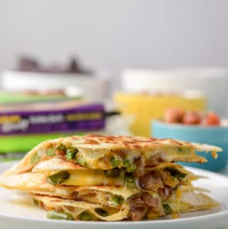 Cheesy Vegetarian Quesadillas