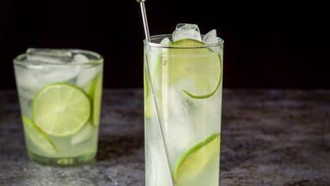 Gin Lime Rickey | So Refreshing and Delicious