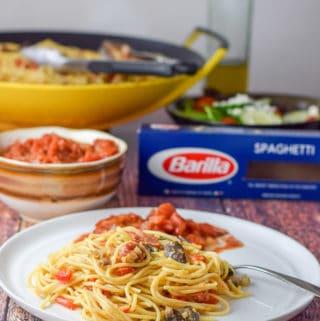 Claire's Special Spaghetti Egg Extravaganza