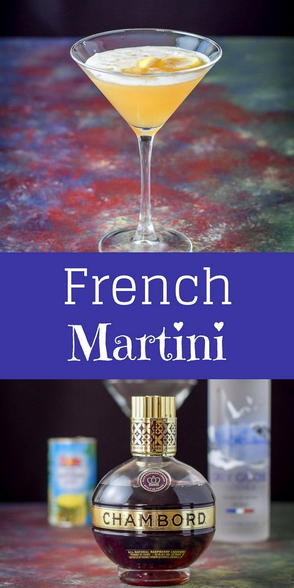 Cancan dancer French martini cocktail is fun and delicious that you're going to want to dance the cancan, so beware! #Frenchmartinicocktail #cocktail #drinks #dishesdelishcocktails https://ddel.co/ccfmctl