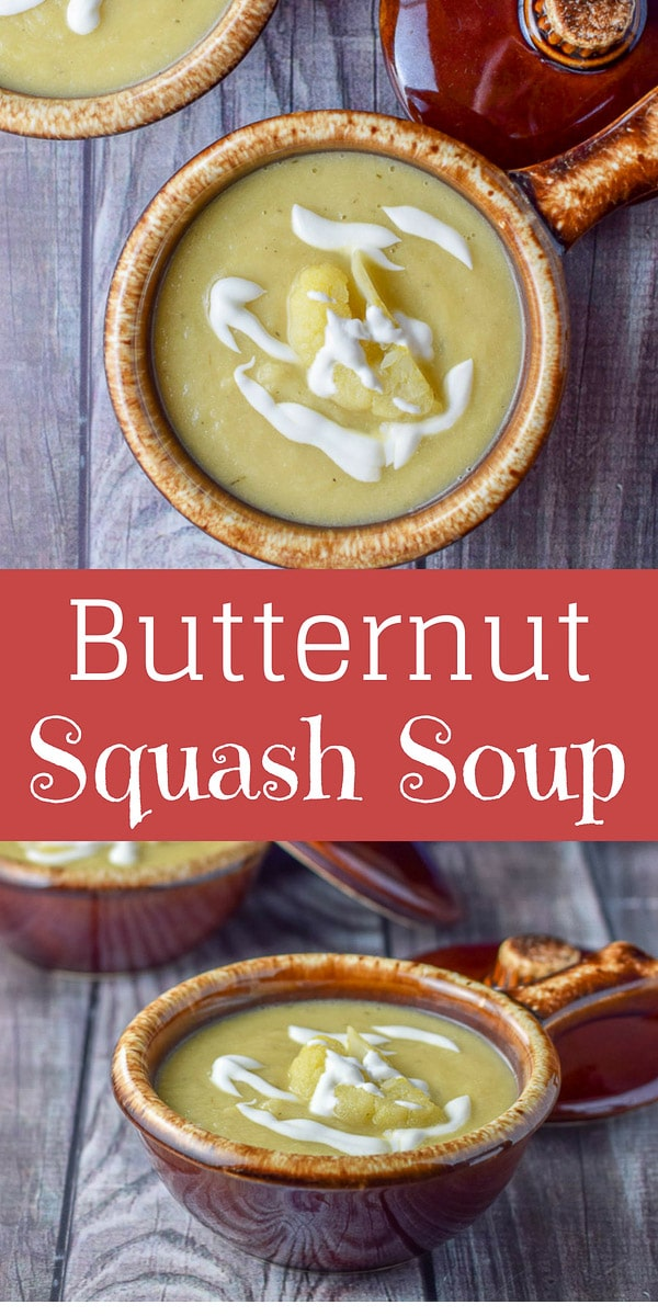 Scrumptious Squash Soup is so thick and hearty that you could make a meal out of it. It's warm and comforting and delicious during the chilly seasons!!  https://ddel.co/squashsp