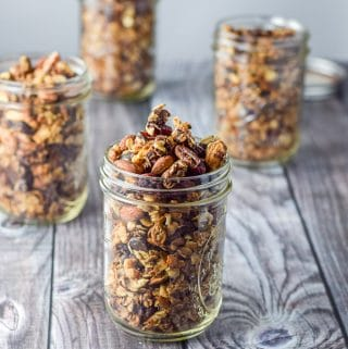 Cranberry Chocolate Granola