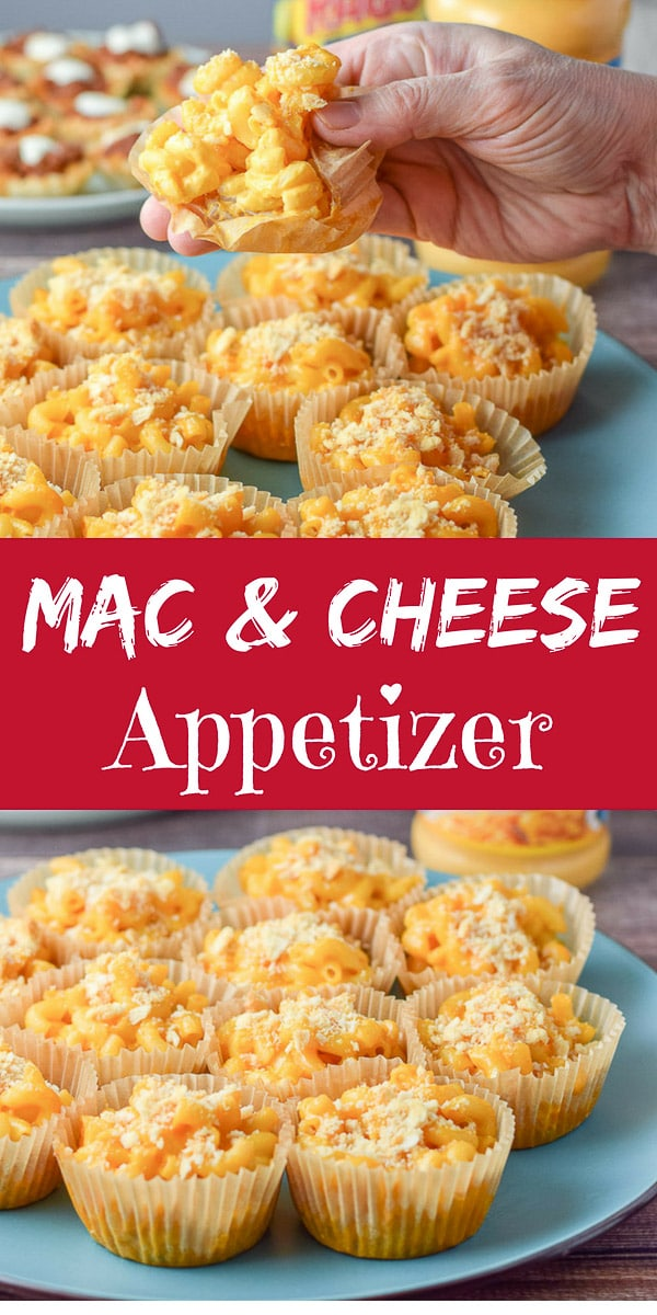 #ad These #Easy #Baked #Mac&Cheese #Appetizer cups are so fun that you will wonder why you hadn't made them earlier! RAGÚ double cheese sauce makes them so easy! Only 3 ingredients! #RAGUPartyPleasers https://ddel.co/ebmacapp