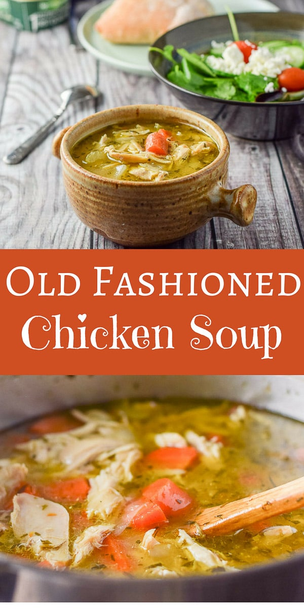 Good old fashioned #chicken #soup is not only #delicious but comforting as well! Just what you need even if you aren't feeling under the weather! #chickensoup #soup #dishesdelish #dishesdelishrecipes https://ddel.co/gofchixsp
