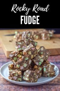 Robyn's Rocky Road Fudge is so good that everyone wants it as a gift over the holiday season. But don't wait for it to get gifted, you can make it now!