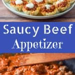 Saucy Beef Appetizer