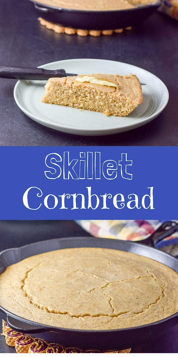 Bob's Healthy Skillet Cornbread recipe is so yummy you are going to be so happy when you eat it!  And you'll feel good about eating it!  #cornbread #skilletcornbread #dishesdelishrecipes https://ddel.co/skcrnbrd