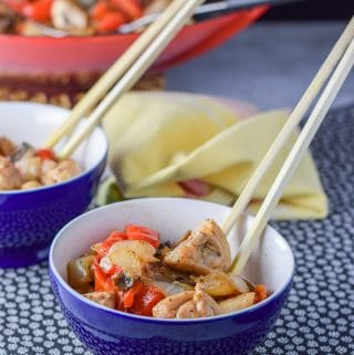 Simple Stir Fry Chicken