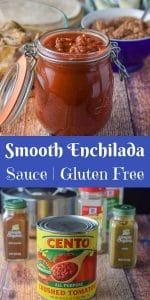 Smooth Enchilada Sauce | Gluten Free