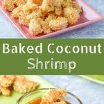 This baked coconut shrimp is head and shoulders above other recipes! What makes it so yummy? The crunchy coating and the apricot sauce.