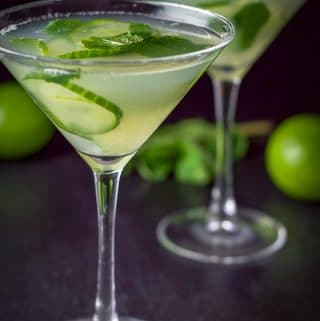 Cucumber Mint Martini | Exquisitely Cool