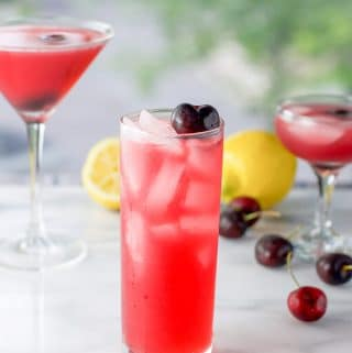 Cherry Vodka Sour | Refreshing and Delicious