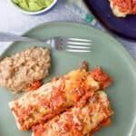 Ground Beef Enchiladas for Pinterest 5