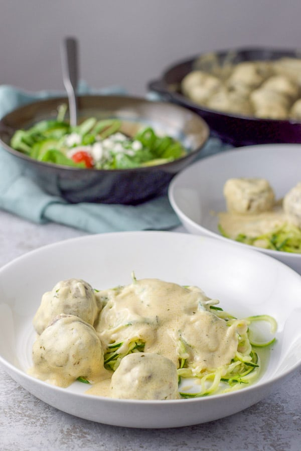 Swedish Meatballs With Sour Cream Sauce Dishes Delish