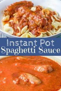 Instant Pot Spaghetti Sauce for Pinterest