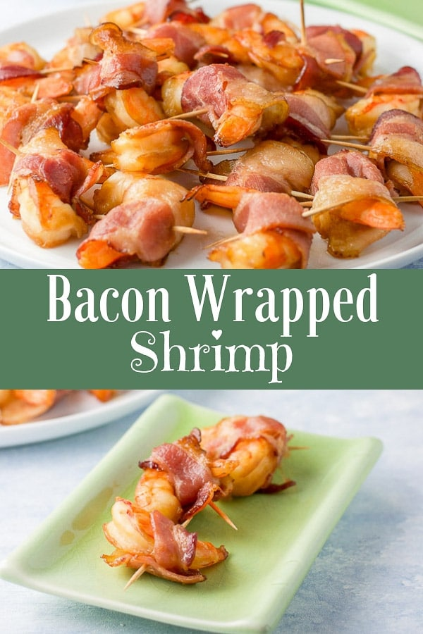 The delicious flavor of the marinated shrimp complements the salty deliciousness of the bacon, which makes it the perfect appetizer! #shrimp #baconwrappedshrimp #appetizer #dishesdelish
