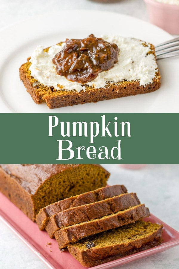 This delicious easy pumpkin bread is so hearty and delicious that just a piece of this bread will satisfy your every pumpkin loving need! #pumpkin #pumpkinspice #pumpkinbread #breakfast #dishesdelish